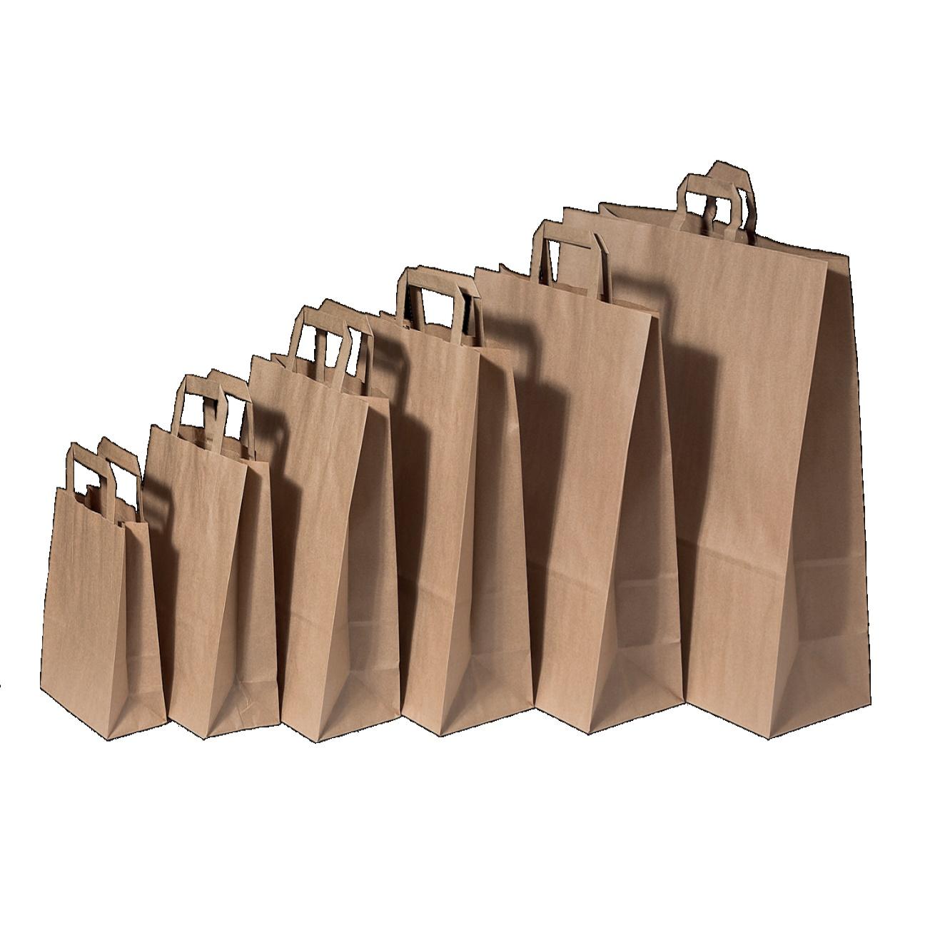Shopper Avana Riciclato Con Maniglia Piatta